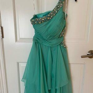 Flowy blue dress!!
